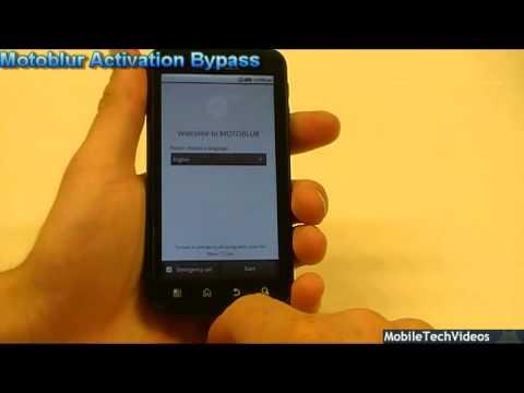 Motorola ATRIX 4G (Motoblur Bypass)