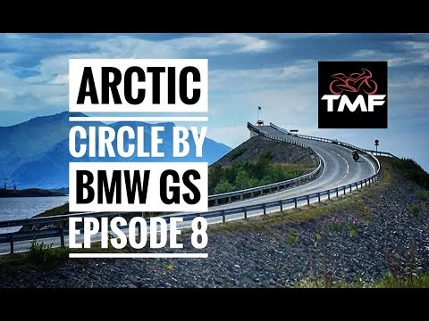 The Arctic Circle by BMW R1200GS - Episode 8 - The Atlantic way, Alesund and on to Trollstigen