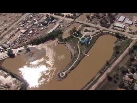 Longmont & Lyons Area - Aerial Footage 9/18/13