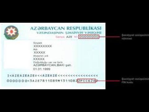 FİN kod nədir? FİN kod ( Fərdi İdentifikasiya Nömrəsi ) / PİN ( Personal Identification Number )
