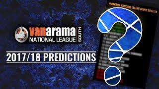 Vanarama National League SOUTH 2017/18 Predictions
