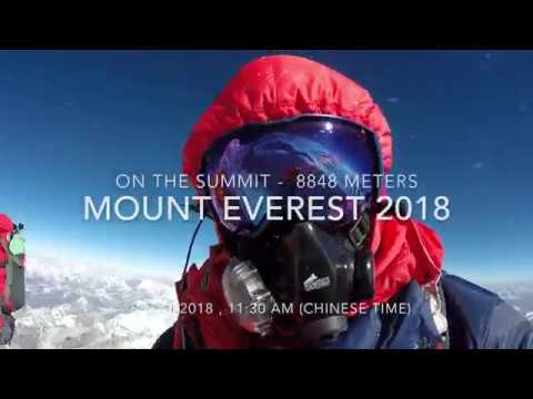 Everest 2018 -  Summit Day At 19 May 2018 - From Tibet Site To The Top - Www.p82.pl