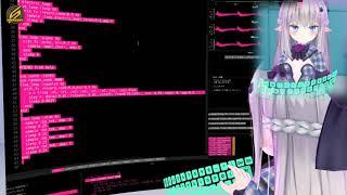 テクノの魅力に取りつかれたスノウエルフちゃんがSonicPiのLive Codingで自らのサウンドを追求する生配信クリップ