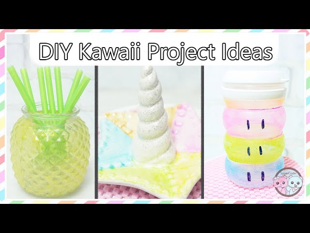 DIY Dollar Tree Kawaii Project Ideas, Pineapple Jar, Norwal Jewelry Holder, Clannad Dango Container