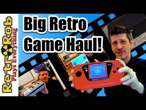 Big O'l Auction Retro Gaming Pickups: First Haul of the New Year!