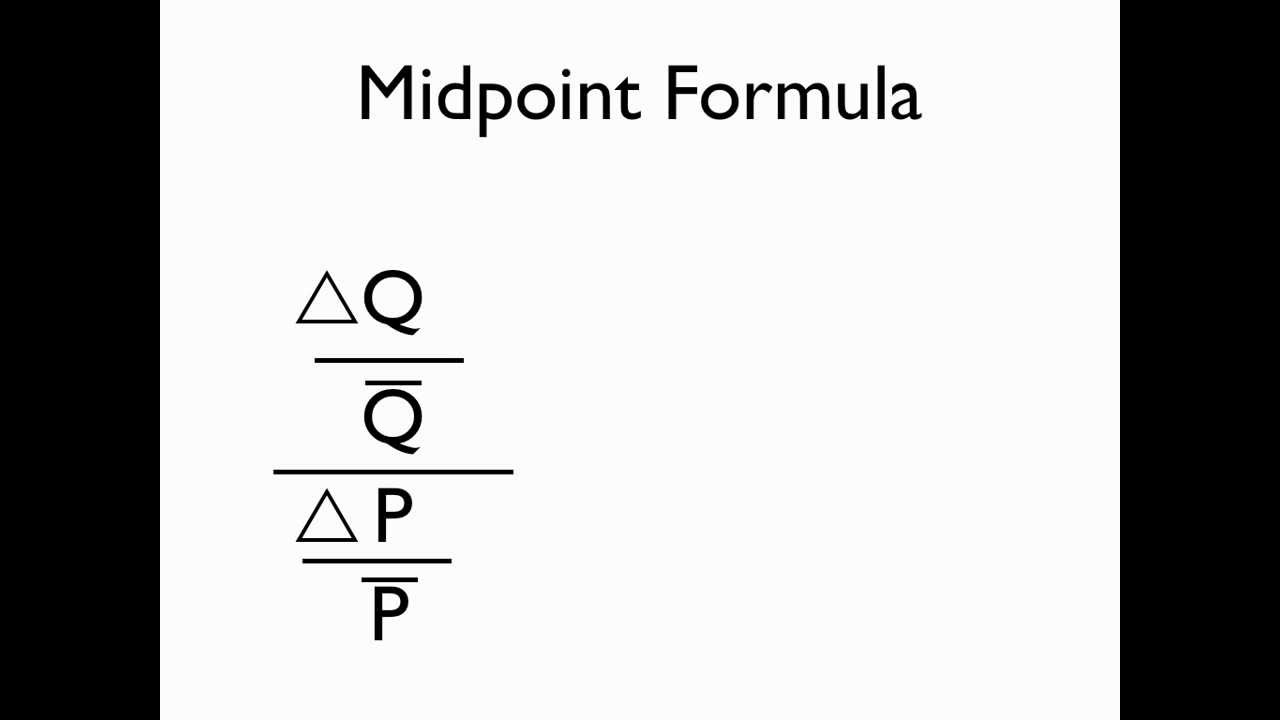 Midpoint Formula Youtube