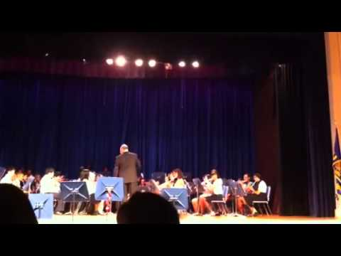 Spring concert at Beverly Hills middle school