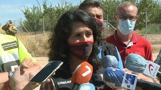 Plan Infomur pasa a nivel 1 tras quedar estabilizado el incendio en la Sierra de la Silla