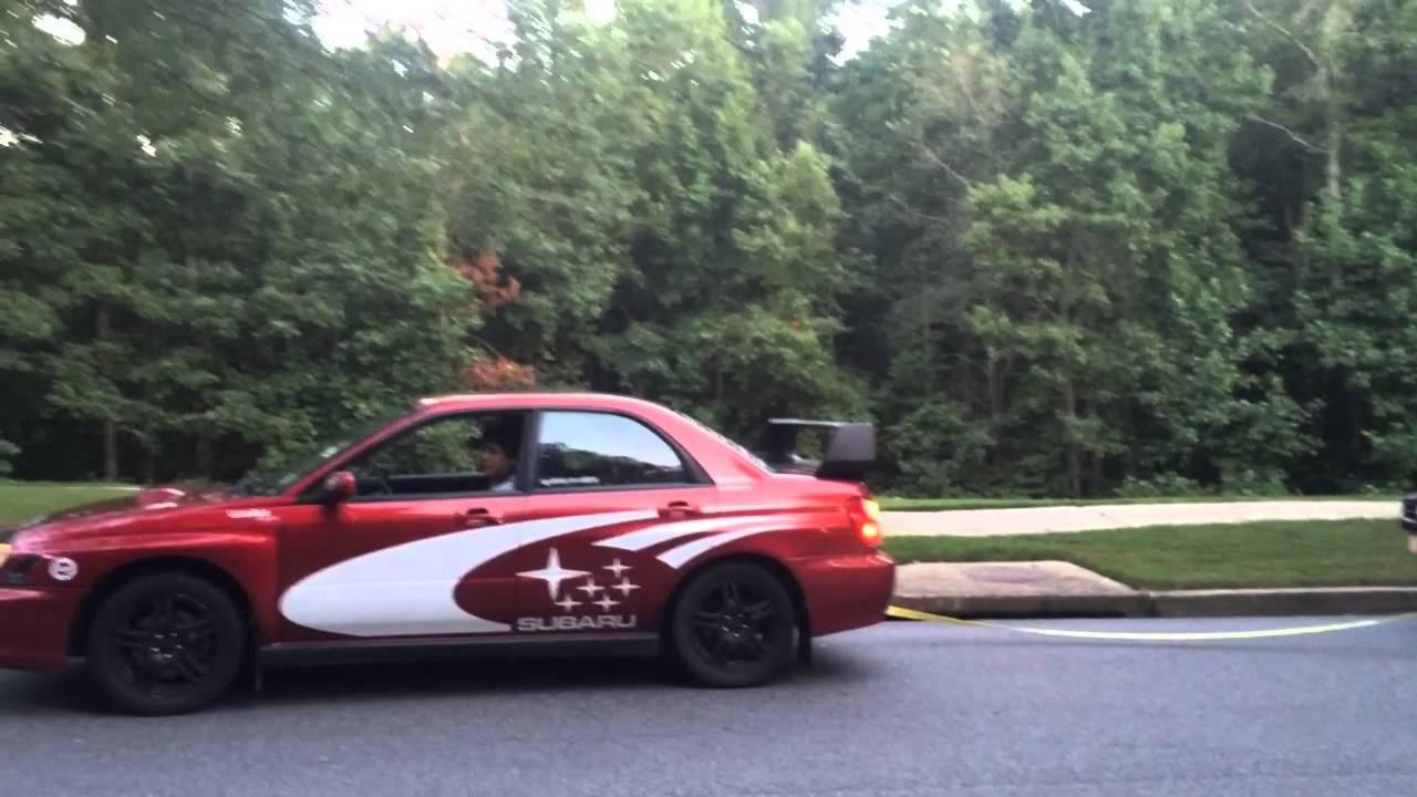 Subaru Wrx Towing Car Youtube