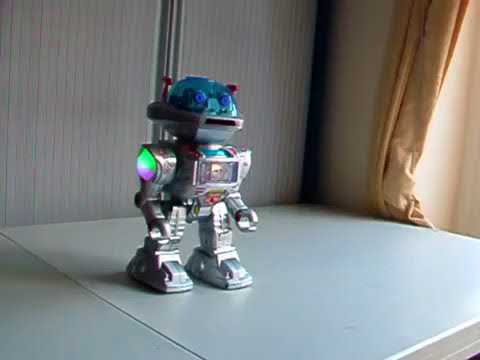 Home Video - Playtech Logic No. 1 Intelligent Talking Remote Control Robot