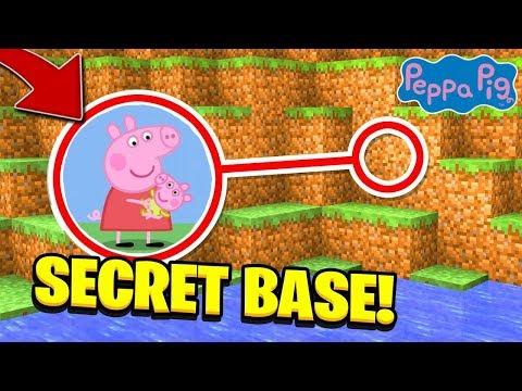 J'AI TROUVÉ LA BASE SECRÈTE de PEPPA PIG et son frère GEORGE sur MINECRAFT !! 😂 (troll)