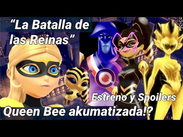 Batalla de las Reinas Queen Bee akumatizada! Nuevo kwami | Estreno y spoilers | Miraculous Ladybug