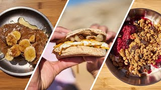 3 CAMP BREAKFAST IDEAS - Easy Car Camping Recipes