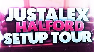 JustAlexHalford Setup Tour (2017) Video