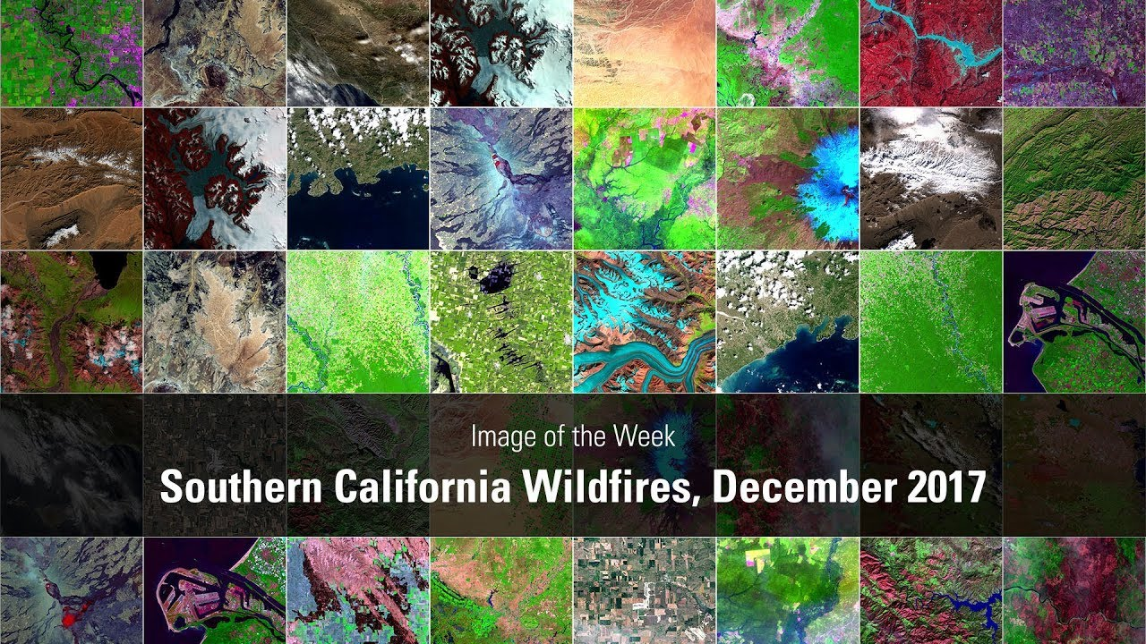 Southern California Wildfires, December 2017
