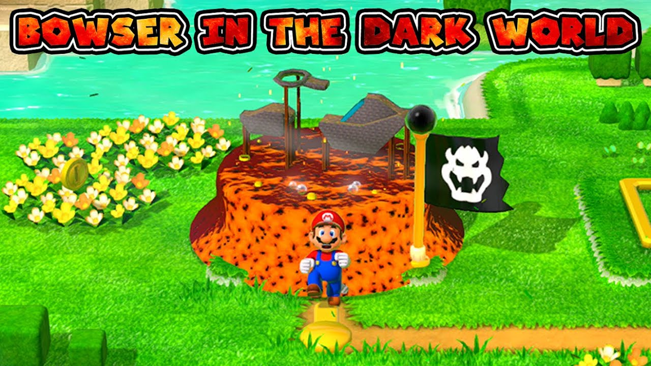 What If Bowser in the Dark World Was Recreated in Super Mario 3D World?