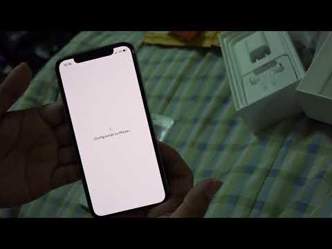 Iphone X En PERU, Desempaquetado