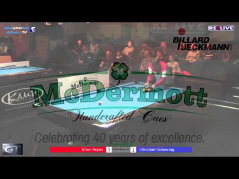 Efren Reyes vs Christian Reimering Money Game Part 1 - Geman Tour 2015/2016