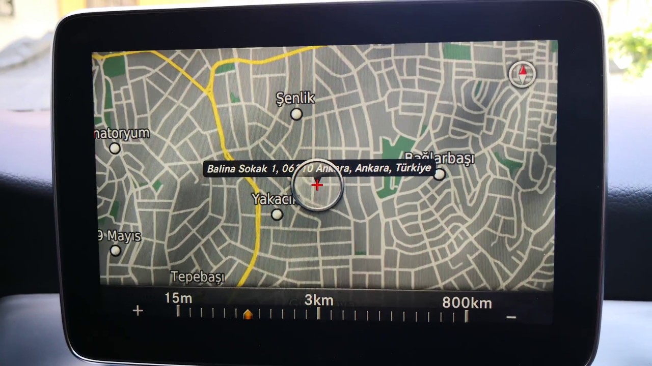 Mercedes CLA Garmin Map Pilot Navigation