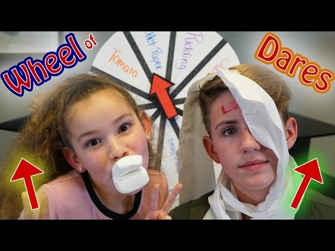 Thumbnail: Wheel of Dares! (MattyBRaps vs Olivia Haschak)