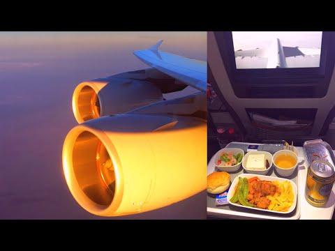 Lufthansa Airbus A380-800 Premium Economy Shanghai - Frankfurt (D-AIMN)