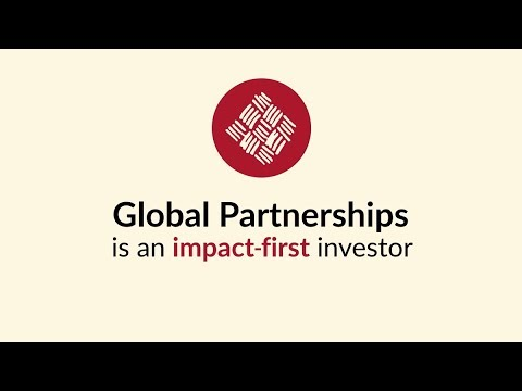 Global Partnerships - Impact-first investor