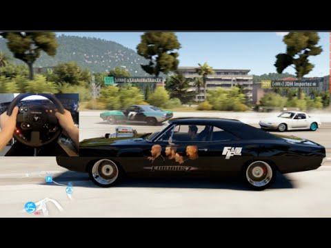 Fh2 Gopro Doms 1970 Dodge Charger 900Hp Drift Build Online Furious7 Slaptrain