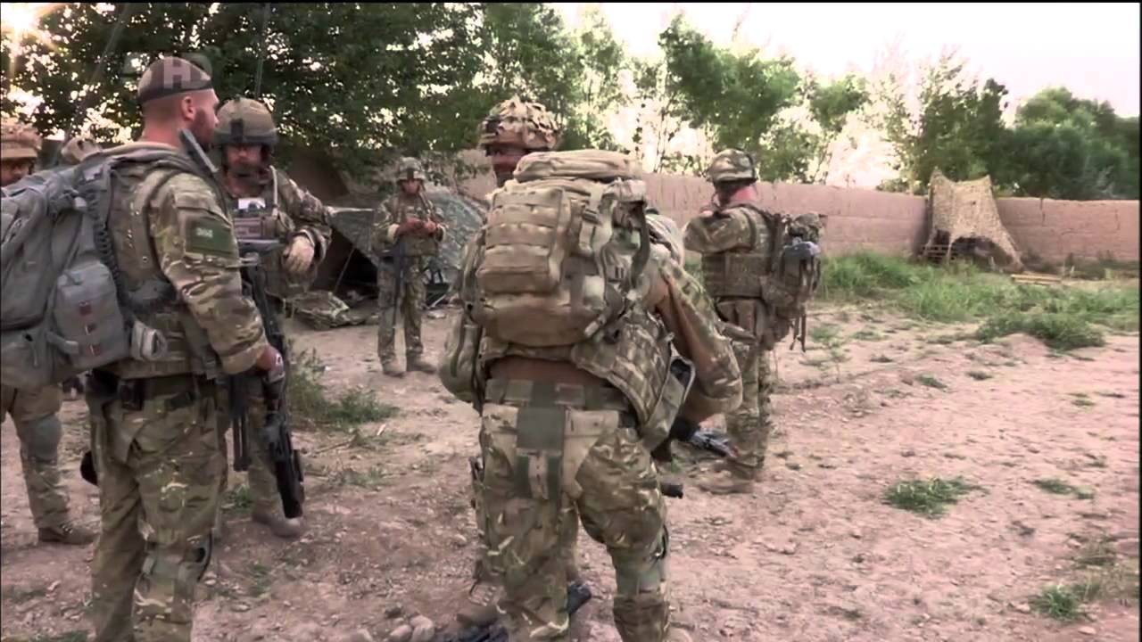 Royal Marines: Mission Afghanistan - Venus Fly Trap - YouTube
