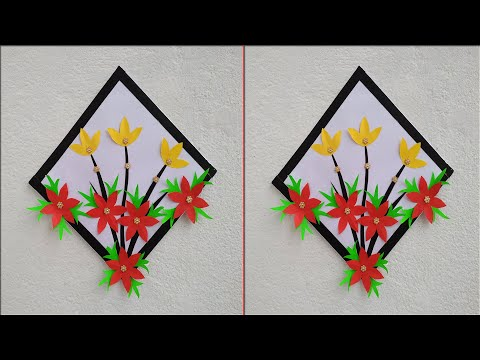 Beautiful handmade wall decoration ideas|| wall hangings|| easy art and craft ideas