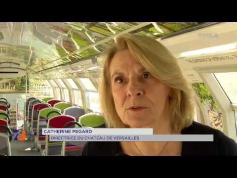 Transport : inauguration des nouvelles rames à Versailles