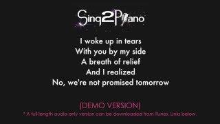 Like I'm Gonna Lose You Piano karaoke demo