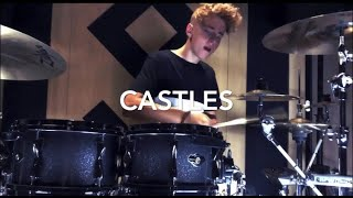 CASTLES ~ FREYA RIDINGS (Drum Cover) Video