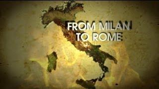 From MILAN to ROME at 3 hours!!! • Из Милана в Рим за 3 часа!!!
