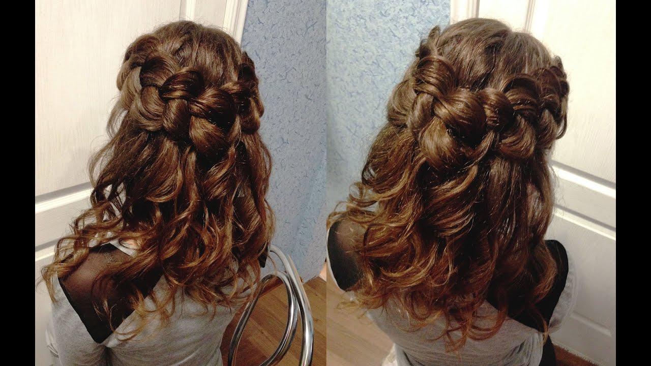 Прически с плетением на длинные волосы - 50 модных