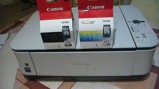 Встановлюємо нові картриджі в струменевий принтер МФУ Canon MP250