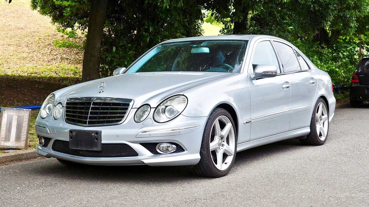 d7adf2bf3f3b0e 2007 Mercedes Benz E550 (Germany Import) Japan Auction Purchase Review