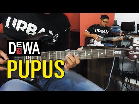 Tutorial Gitar Melodi Dewa 19 - PUPUS By Sobat P [Detail & Slow Tempo]