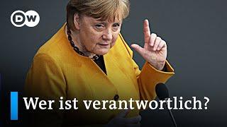 Angela Merkel entschuldigt sich für Corona Schlingerkurs nach Ministerpräsidentenkonferenz