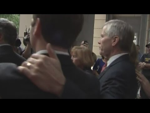 Bob McDonnell exits courthouse after verdict