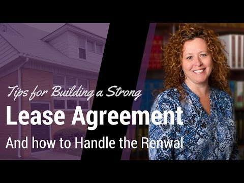 The Lease Agreement and Rental Lease Renewal Process – Cherry Hill Property Management Advice
