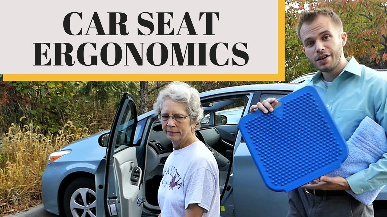 Make Your Car Seat More Comfortable And Stop Back Pain While Driving Ergonomics 101 WBW