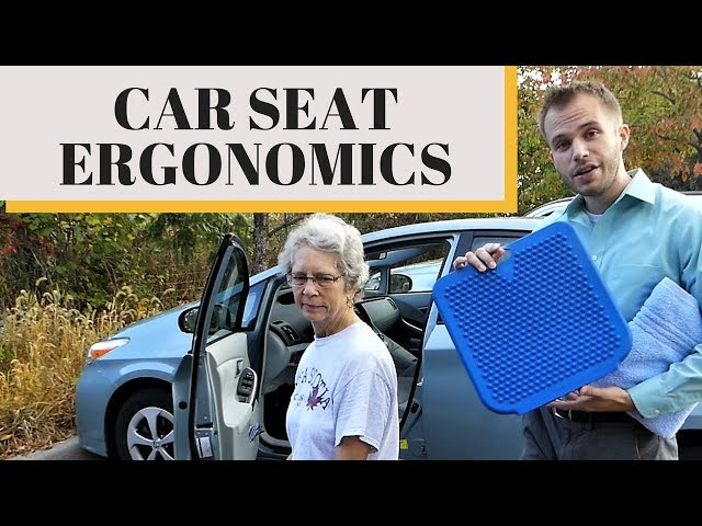 Make Your Car Seat More Comfortable And Stop Back Pain While Driving Ergonomics 101 Wbw You