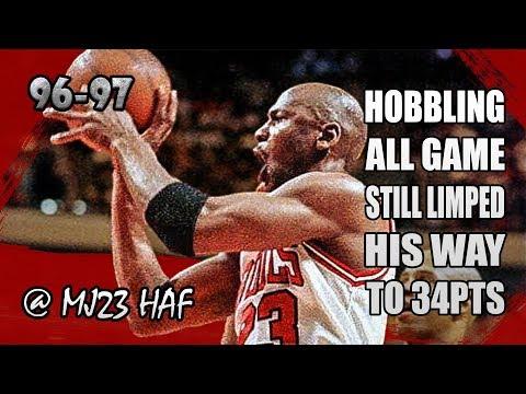 Michael Jordan Highlights vs Warriors...