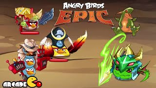 Angry Birds Epic: Angry Birds Vs Puzzle And Dragon - New Event Into the Void