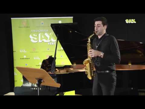THOMAS BRUN - 1st ROUND - V ANDORRA INTERNATIONAL SAXOPHONE COMPETITION 2018