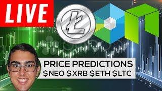 Price Predictions: NEO ($NEO), Nano ($NANO), Bitcoin ($BTC), Ethereum ($ETH), Litecoin ($LTC)!