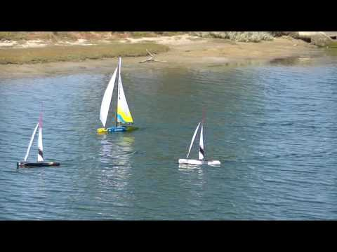 RC Boating Lauderdale Canal Southern Tasmania