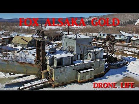 FOX Alaska gold mines DRONE LIFE