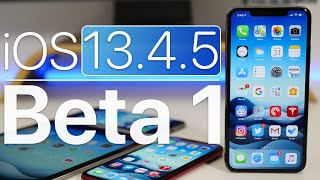 iOS 13.4.5 Beta 1 is Out! - What's New?