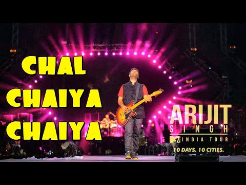 Chal Chaiya Chaiya First Time Live By ARIJIT SINGH | MTV INDIA TOUR 2018